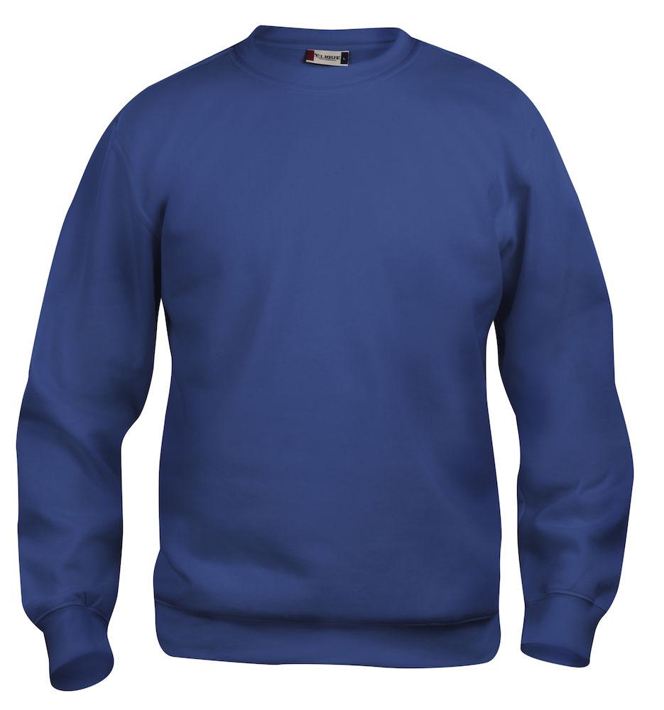 Clique Basic Roundneck blå
