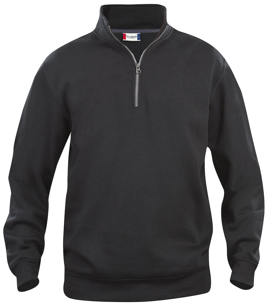 Clique Basic Half Zip svart