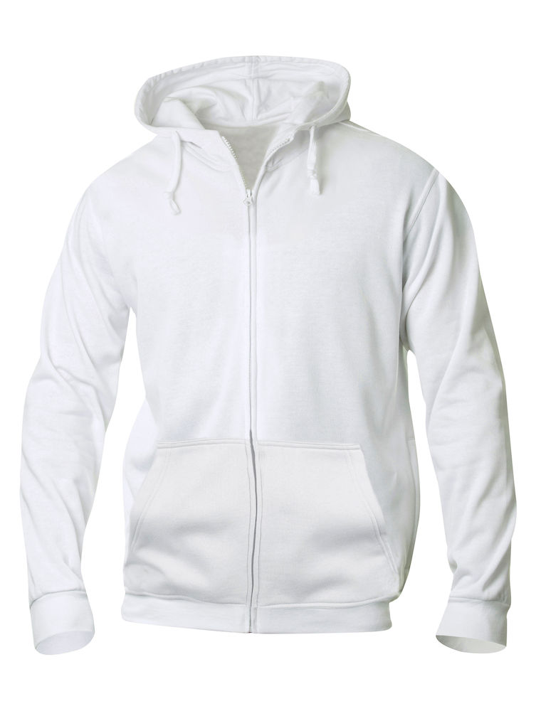 Clique Basic Hoody Full Zip men's vit
