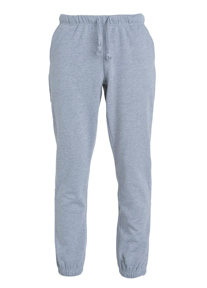 Clique Basic Pants gråmelerad