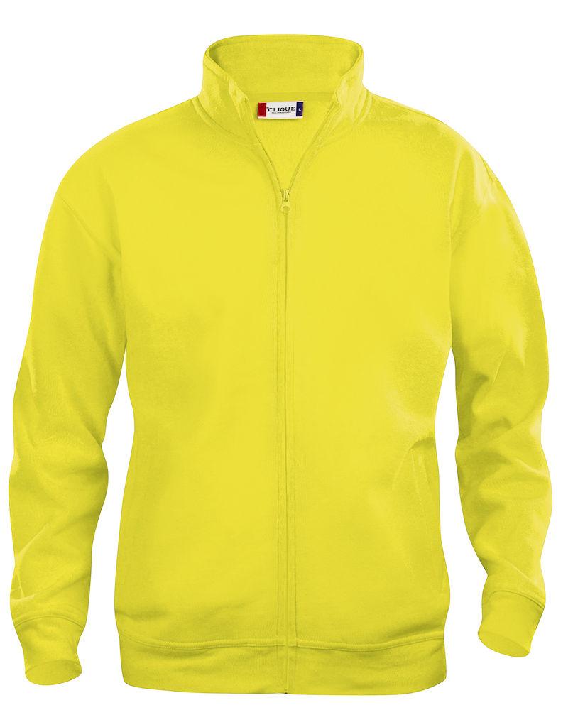 Clique Basic Cardigan men's visibility yellow