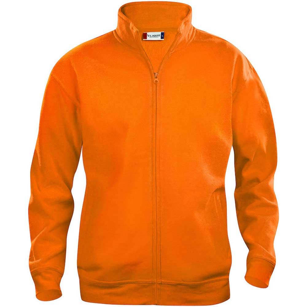 Clique Basic Cardigan men's visibility orange