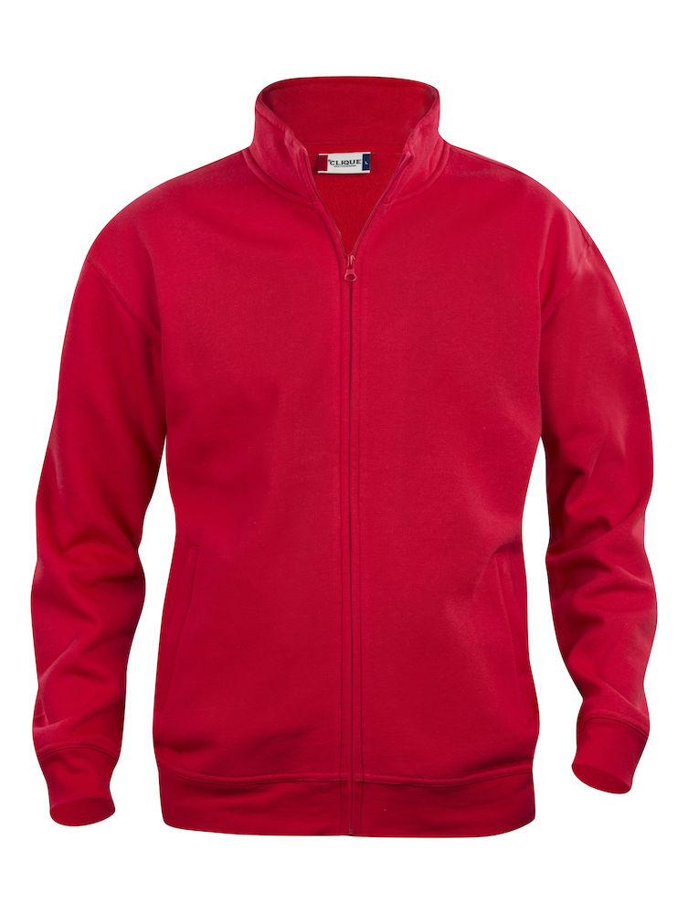 Clique Basic Cardigan men's röd