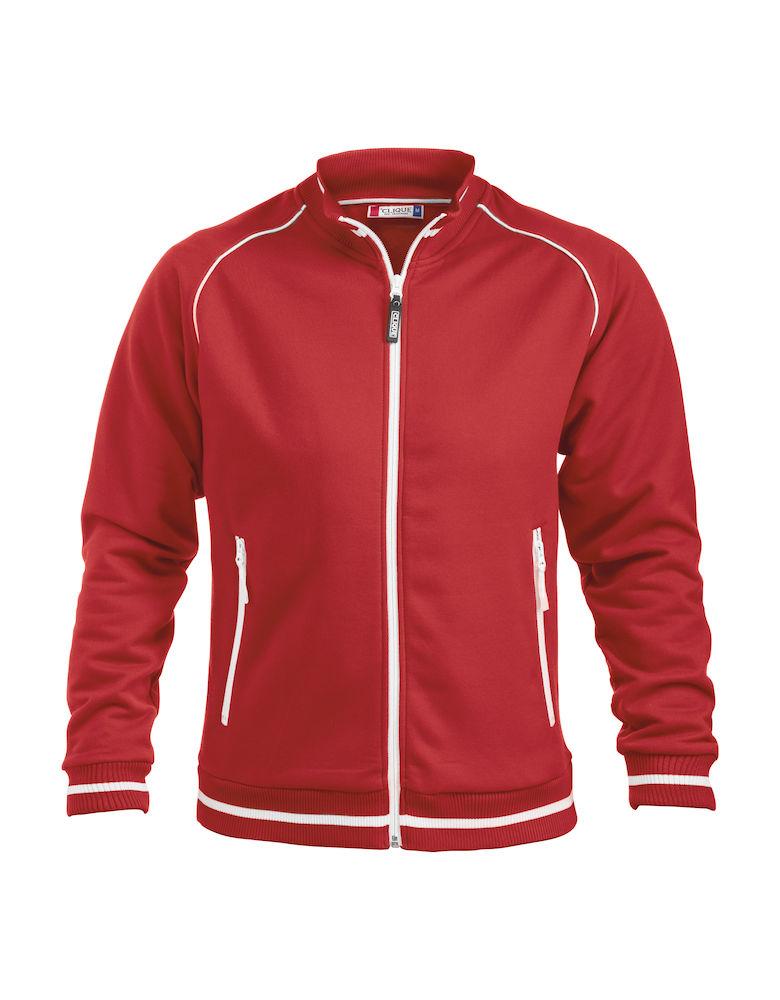 Sweatshirt Clique Craig röd