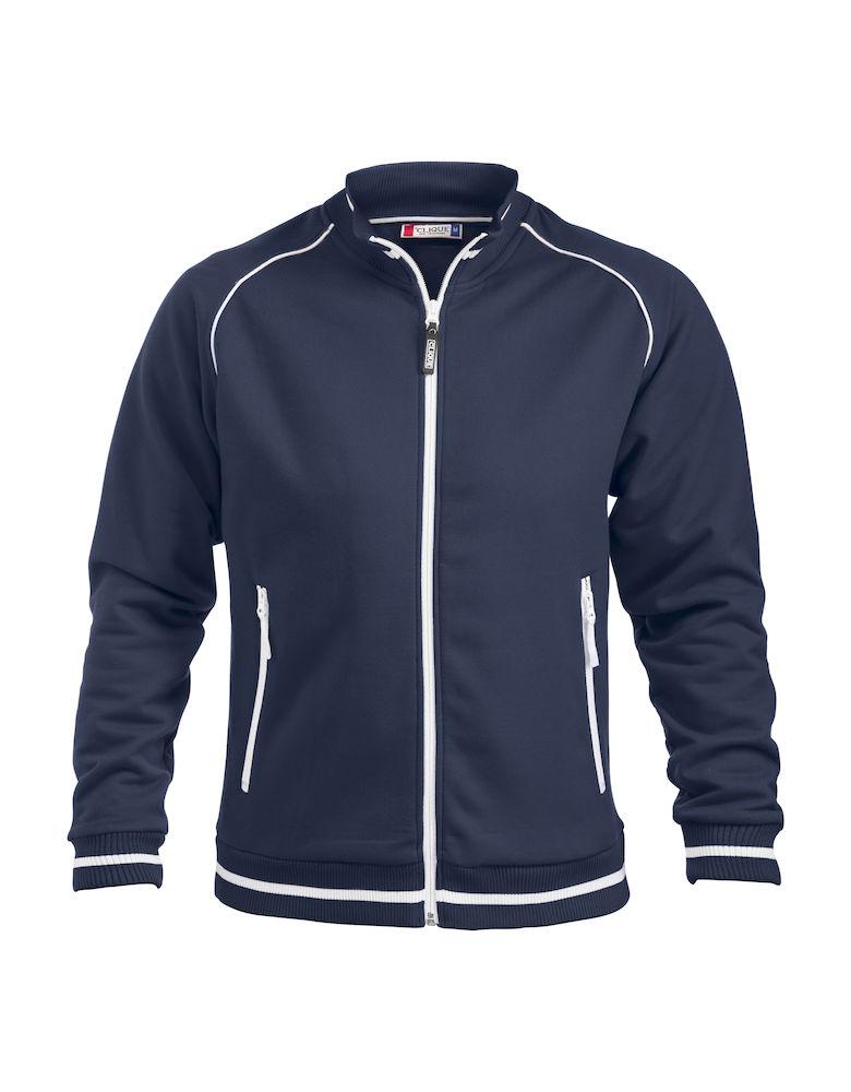 Sweatshirt Clique Craig mörk marin