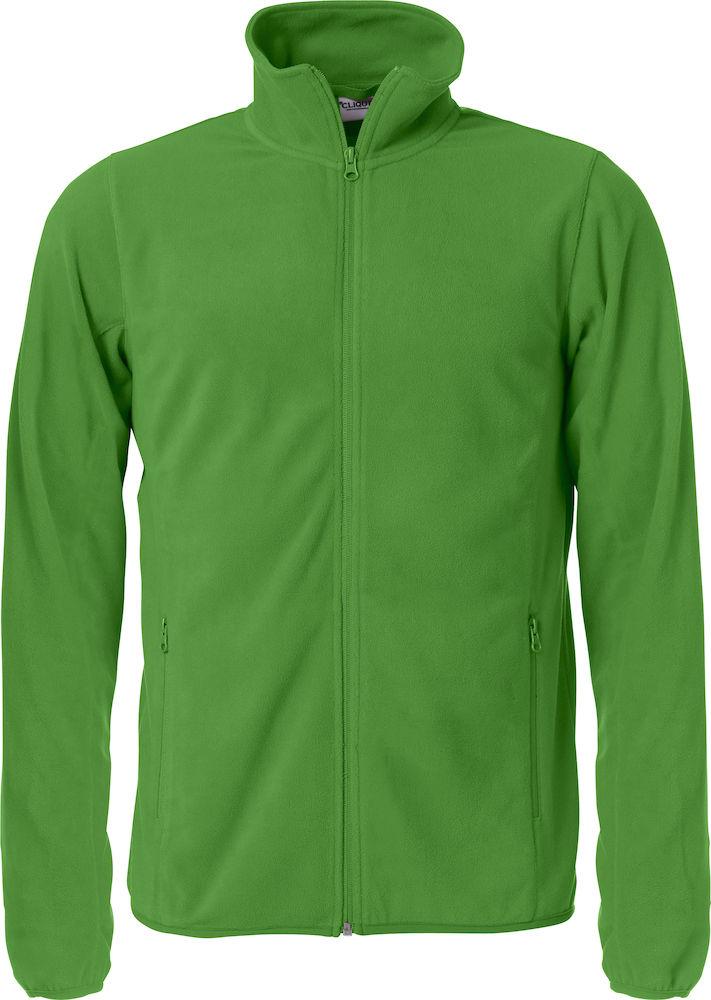 Microfleecejacka Herr Apple green