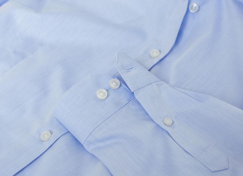 Clark Herrskjorta Ljusblå