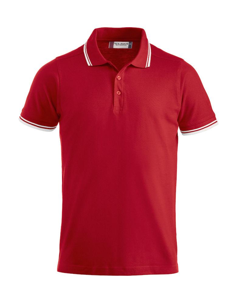 Clique Amarillo Piké  röd