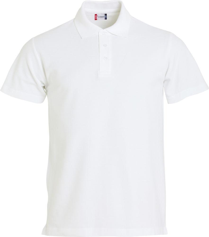 Basic Polo Clique Vit