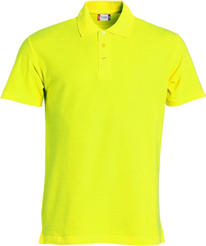 Basic Polo Clique Visibility green
