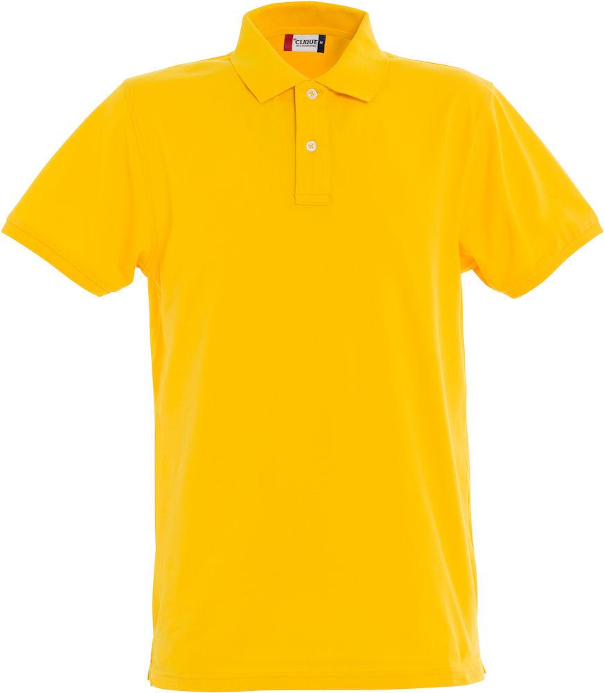 Premium Polo Herr citron