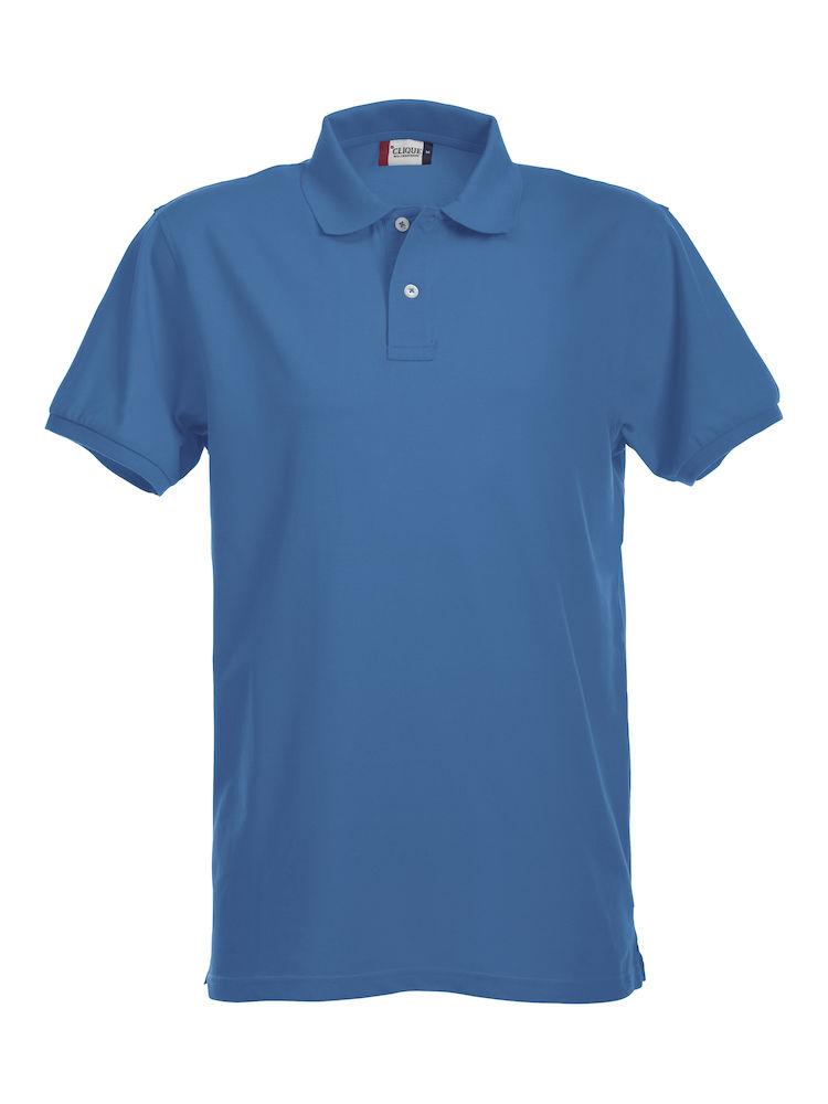 Premium Polo Herr royalblå