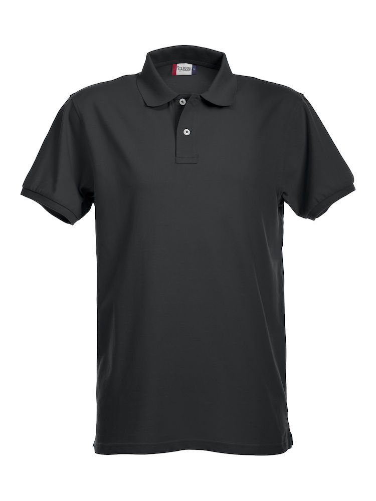 Premium Polo Herr svart