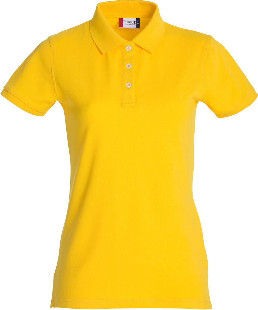 Premium Polo Dam citron