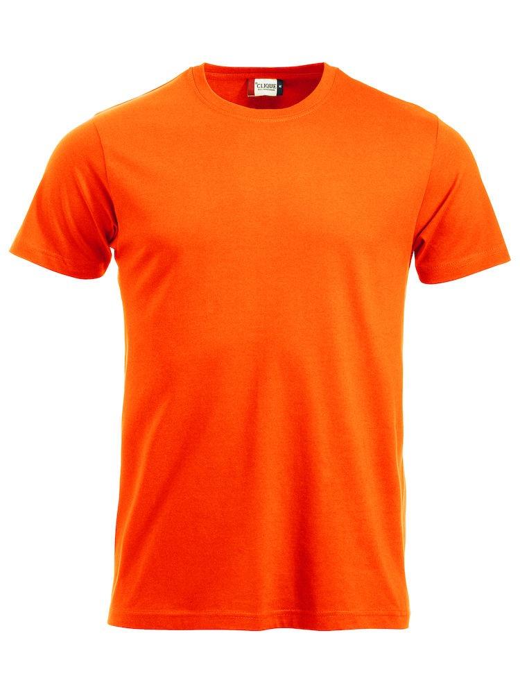 Clique New Classic T  visibility orange