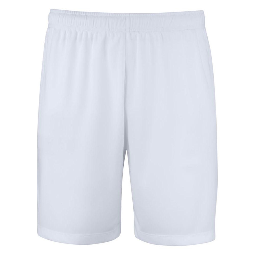 Basic Active Shorts Lagnamn Vit