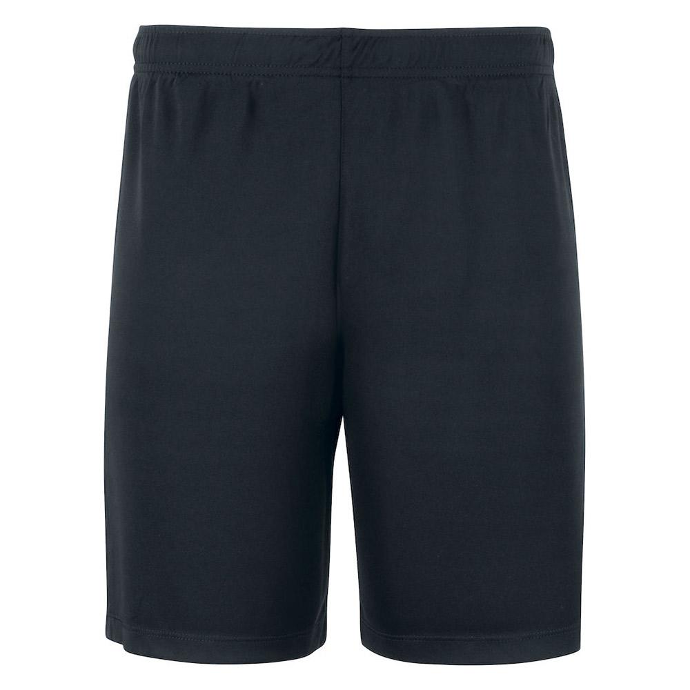 Basic Active Shorts Lagnamn Svart