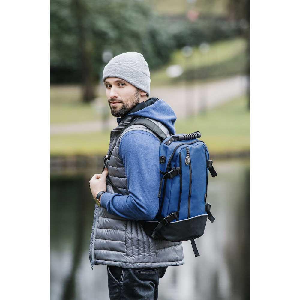Clique Backpack ll marinblå