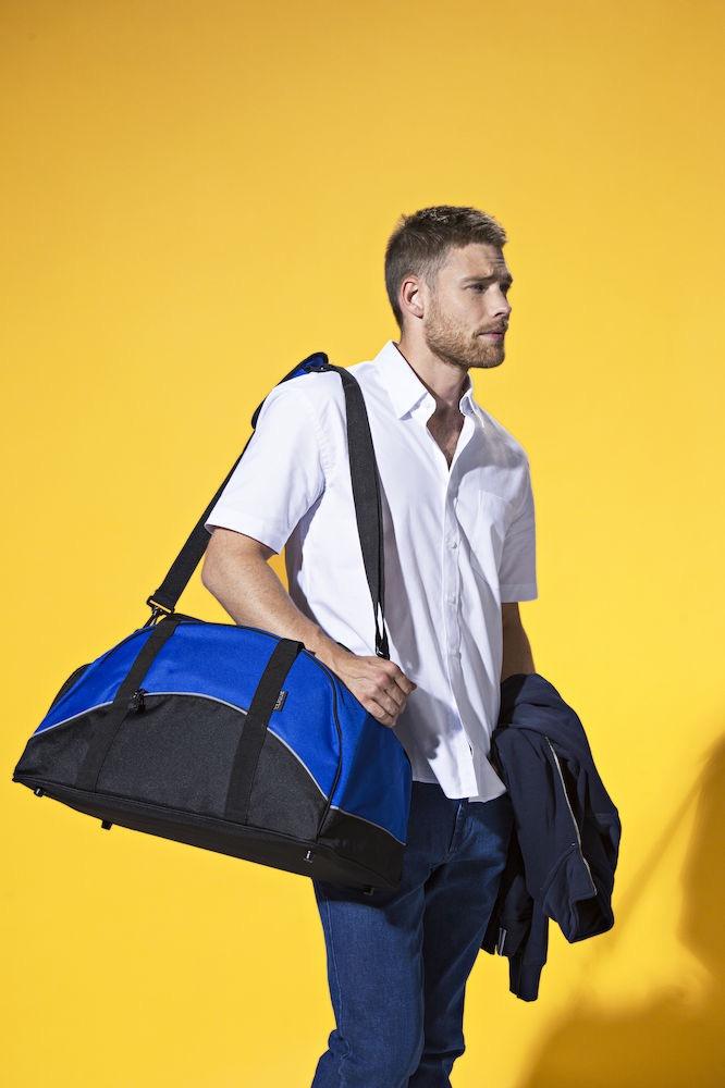 Clique Sportbag   marinblå