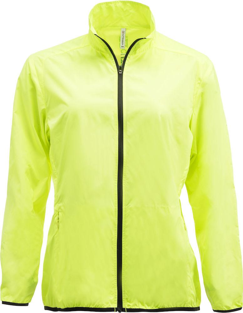 La Push Rain Jacket Ladies Neongul