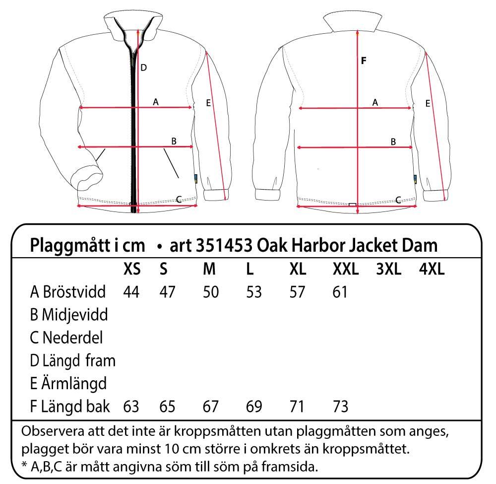 Oak Harbor Jacket Ladies Mörk marin