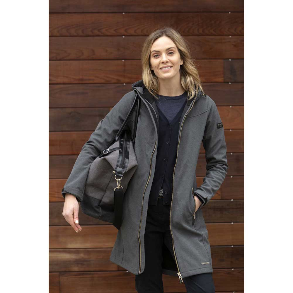 Whittier Jacket Ladies Anthracit Melange
