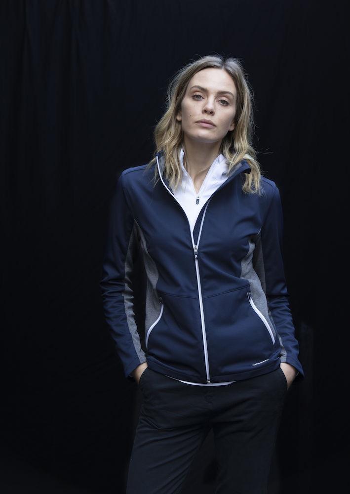 Navigate Softshell Jacket Ladies Dark Navy