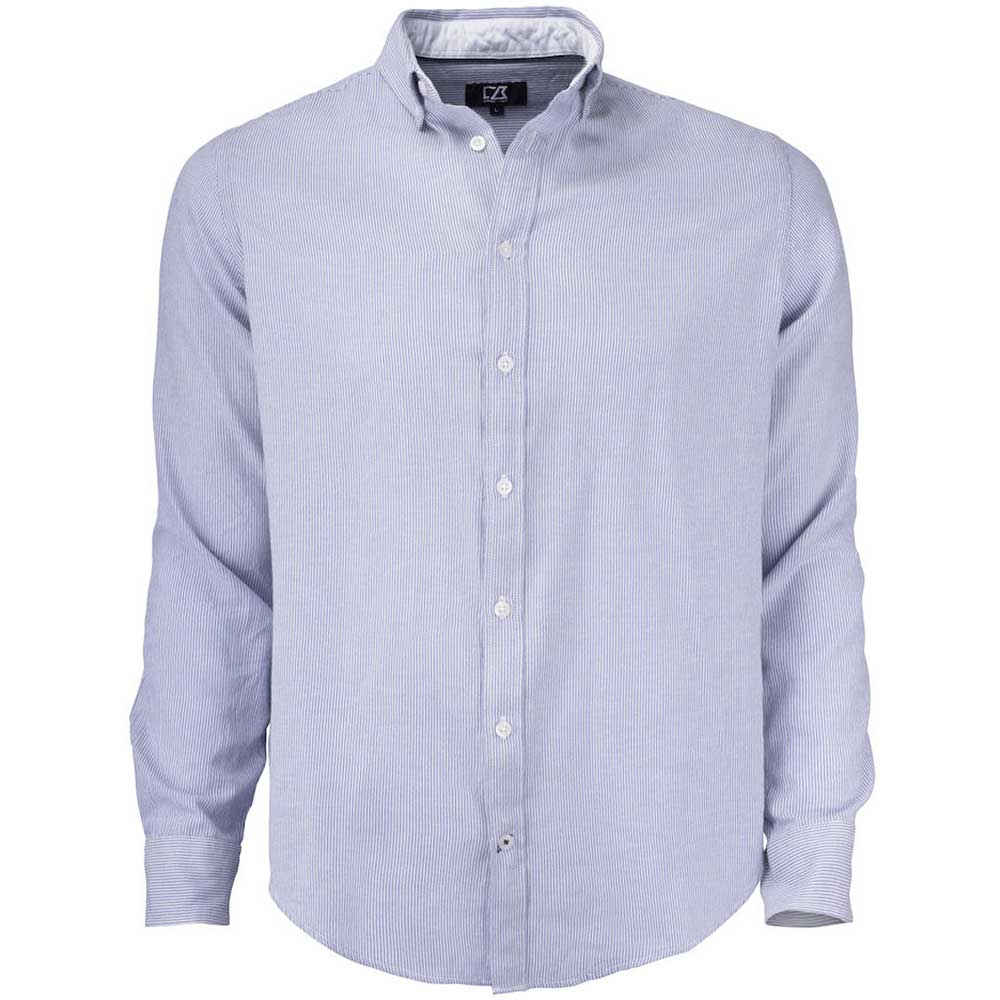 Belfair Oxford Shirt Herr French Blue/White stripe