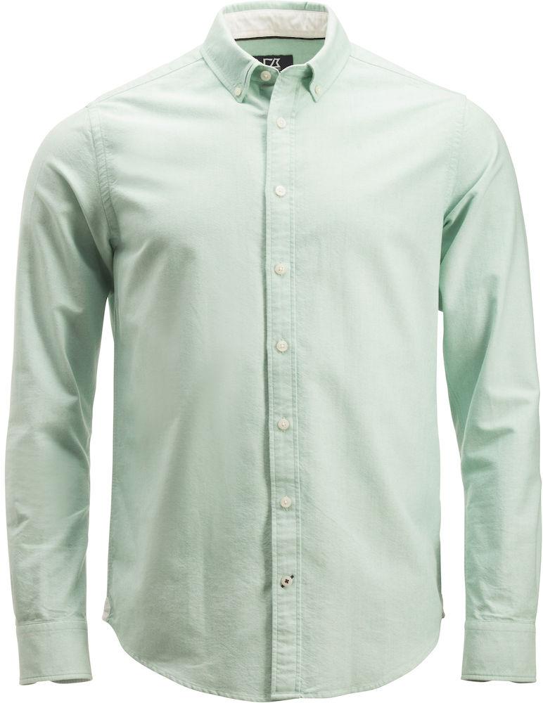 Belfair Oxford Shirt Herr Grön