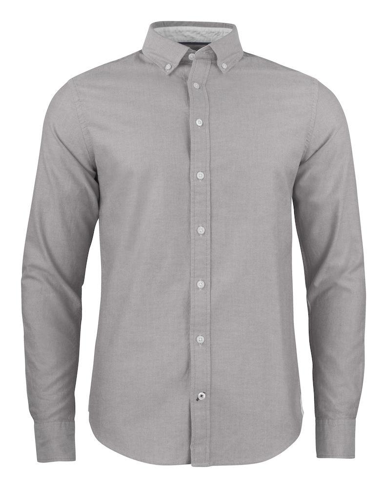 Belfair Oxford Shirt Herr Grå