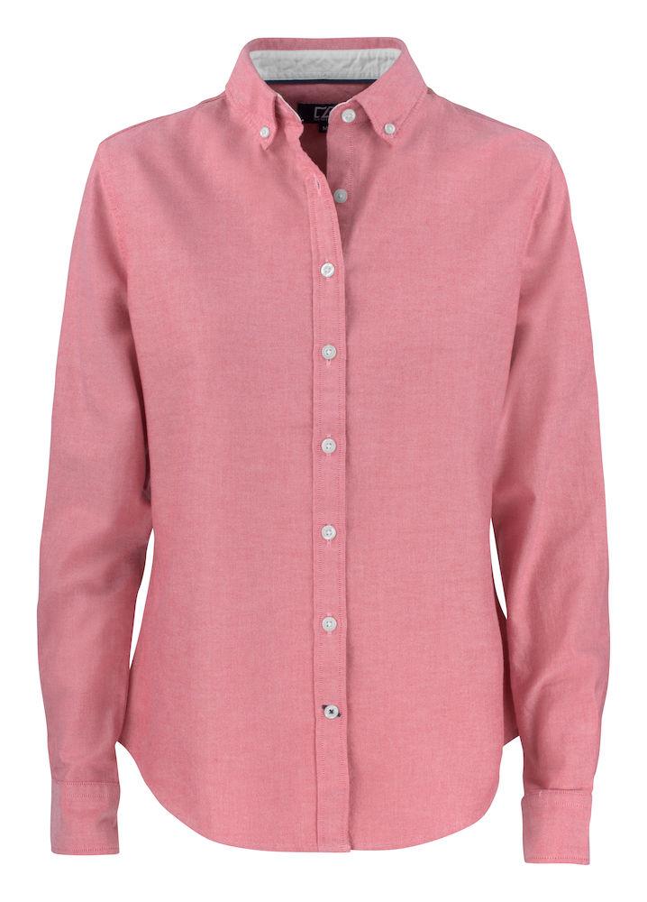 Belfair Oxford Shirt Dam Röd