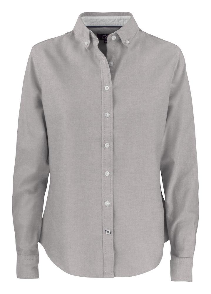 Belfair Oxford Shirt Dam Grå