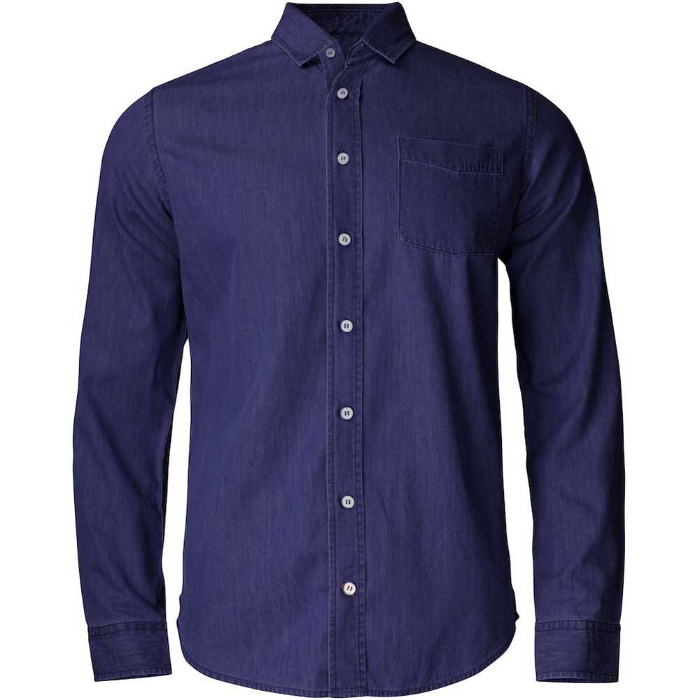 Ellensburg Shirt Men Mörk Denim