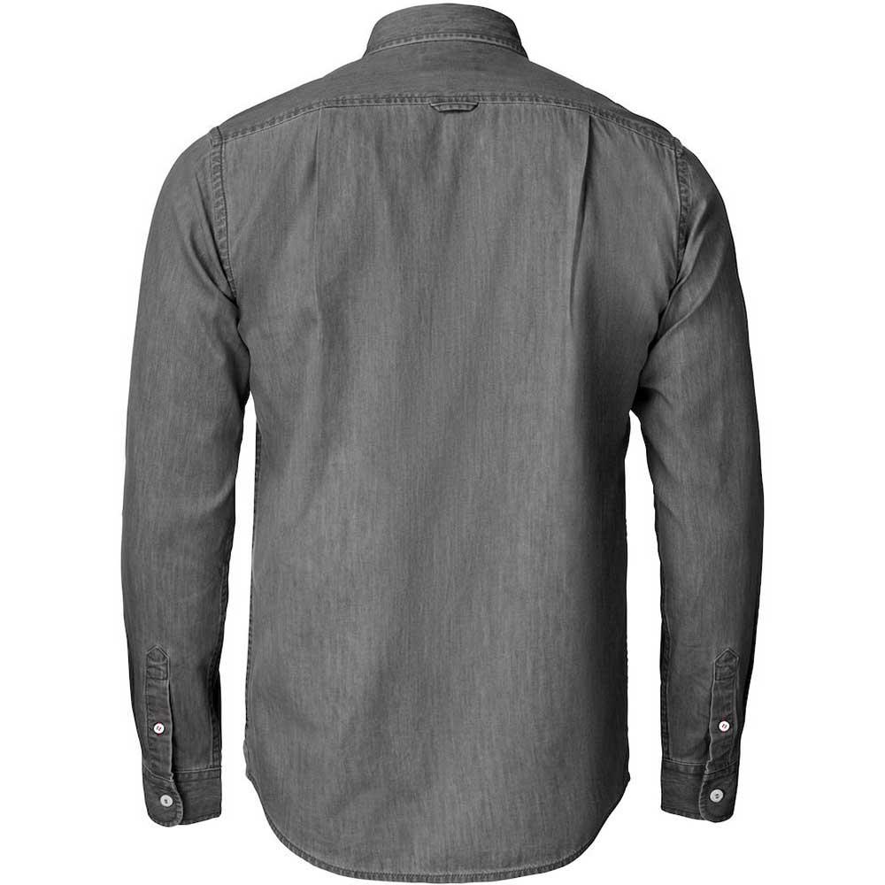 Ellensburg Shirt Men Denim Grey
