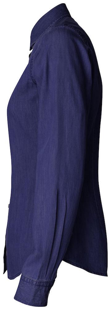 Ellensburg Shirt Ladies Dark Indigo