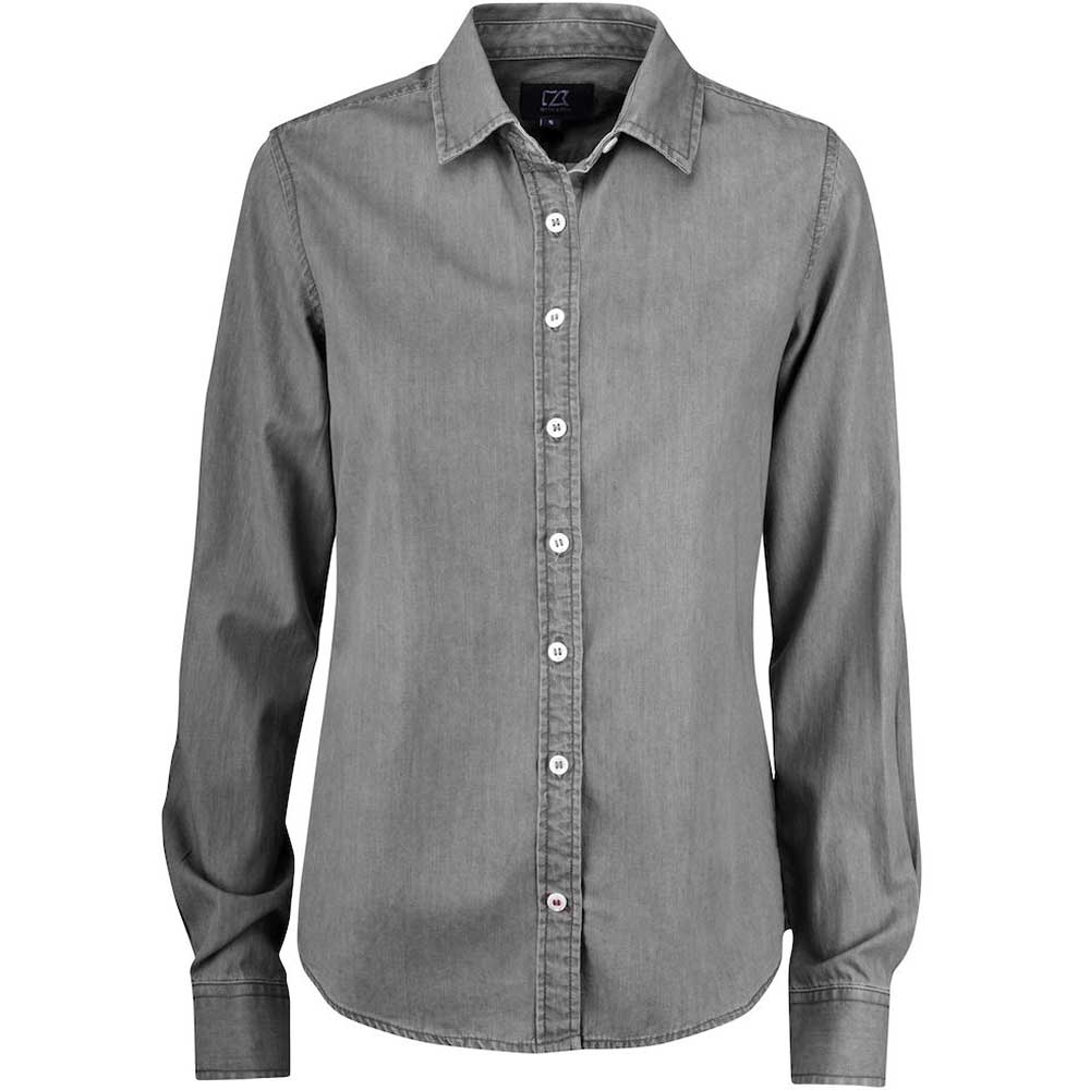 Ellensburg Shirt Ladies Denim Grey