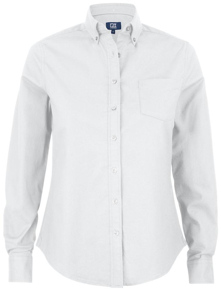 Hansville Shirt Ladies Vit