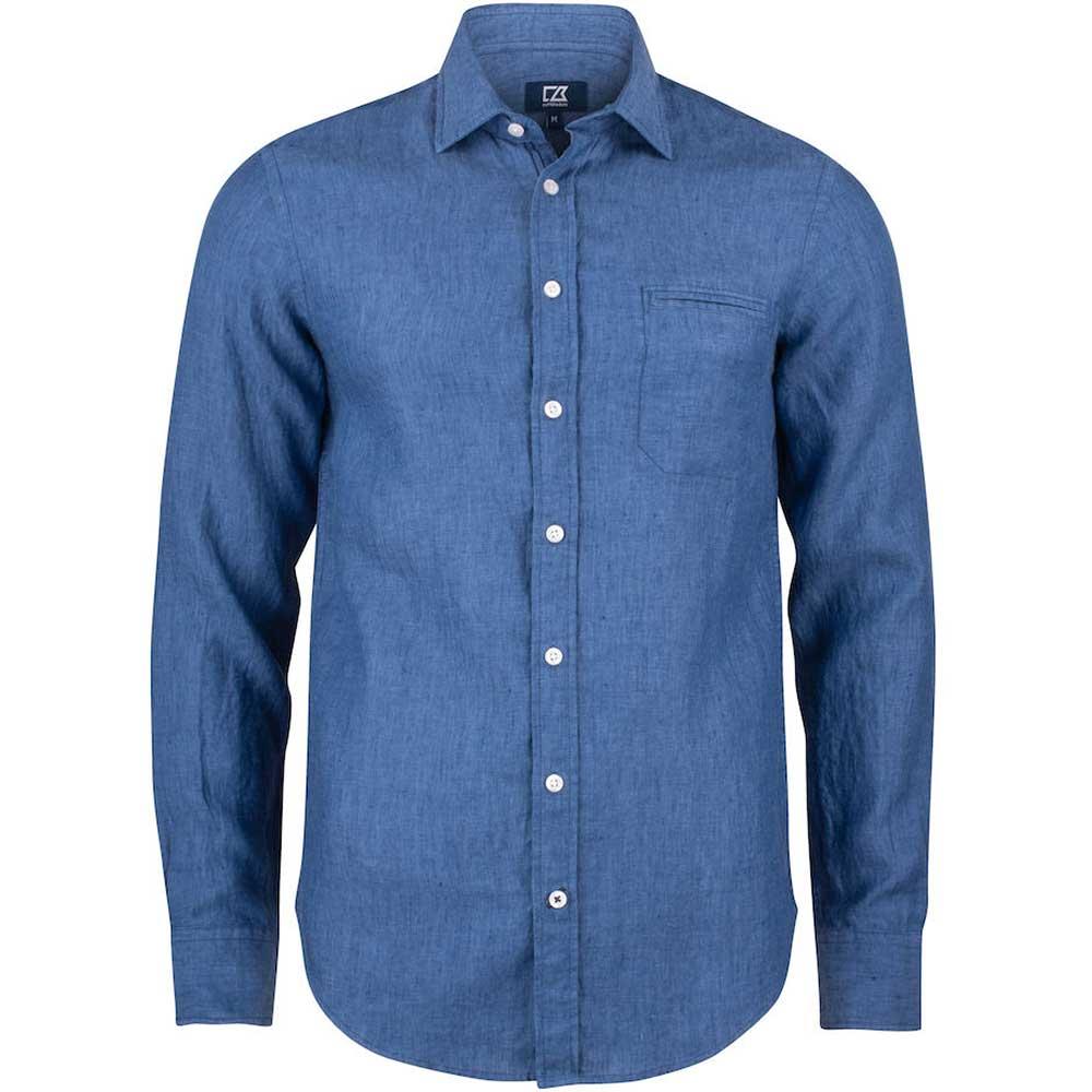 Summerland Linen Shirt Men Dream Blue