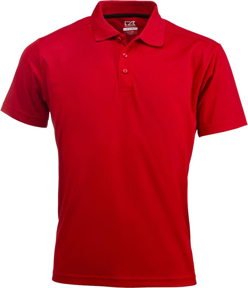 Kelowna Polo Men Röd