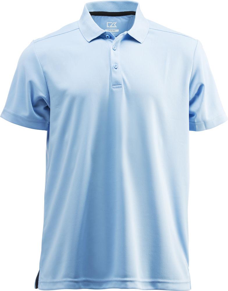 Kelowna Polo Men Ljusblå