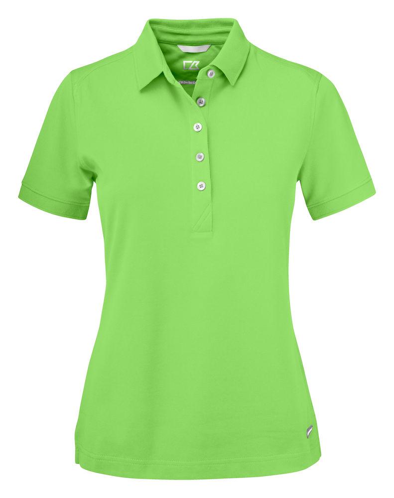 Advantage Polo Ladies Apple Green