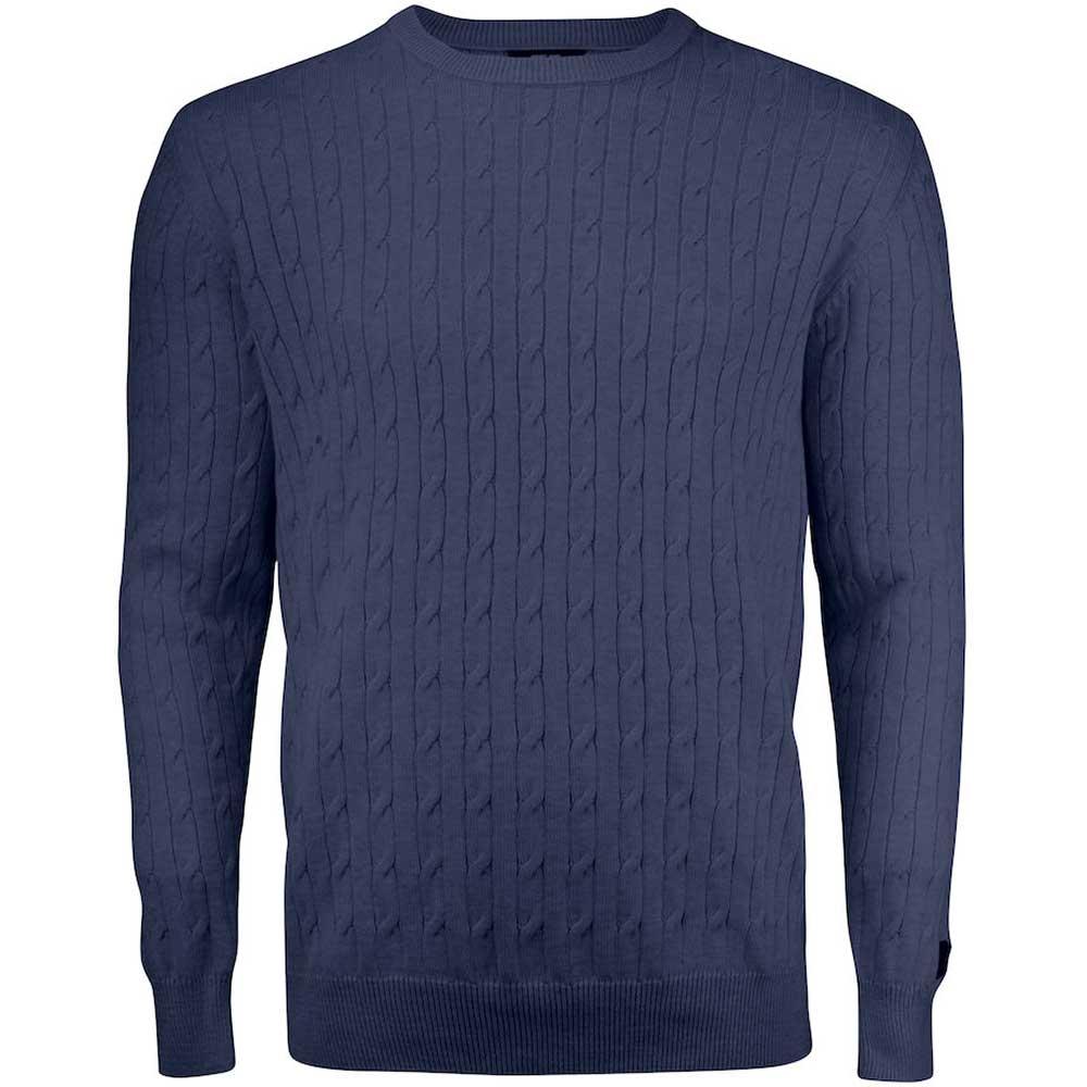 Blakely Sweater Men Marinmelerad