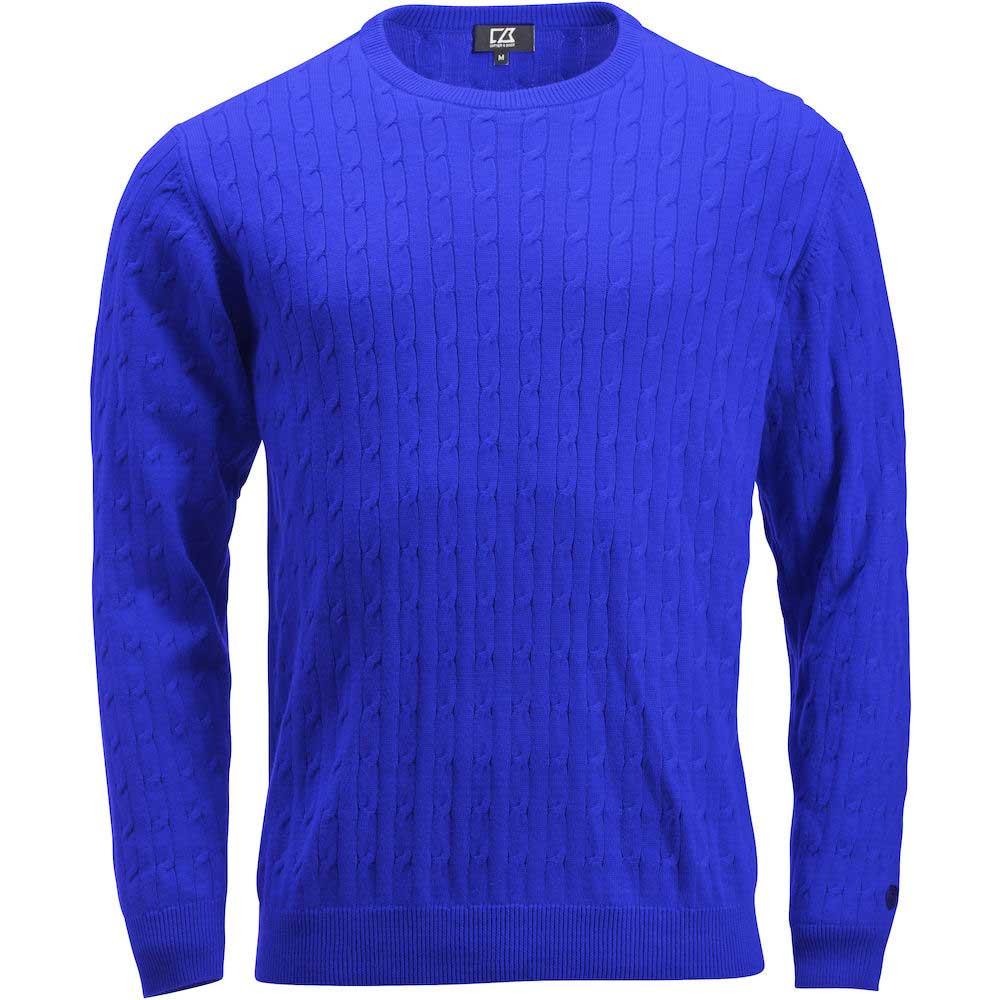 Blakely Sweater Men Royalblå