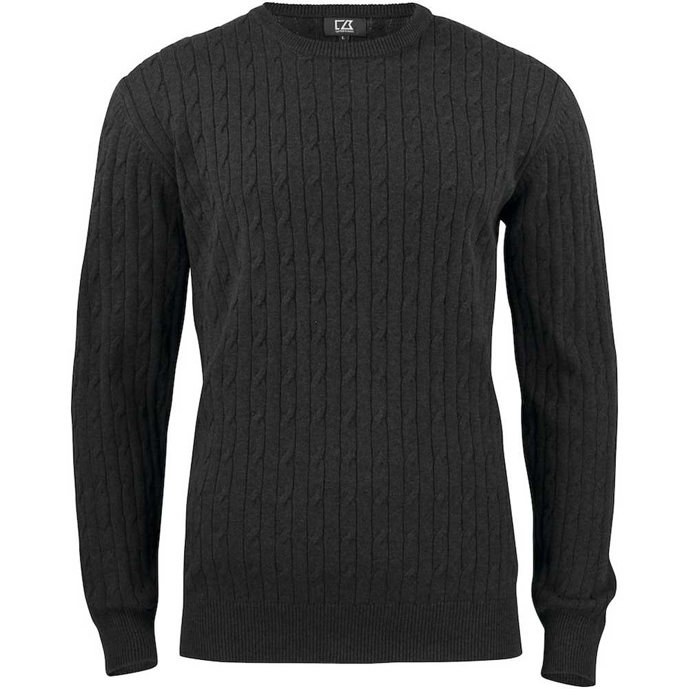 Blakely Sweater Men Antracitmelerad