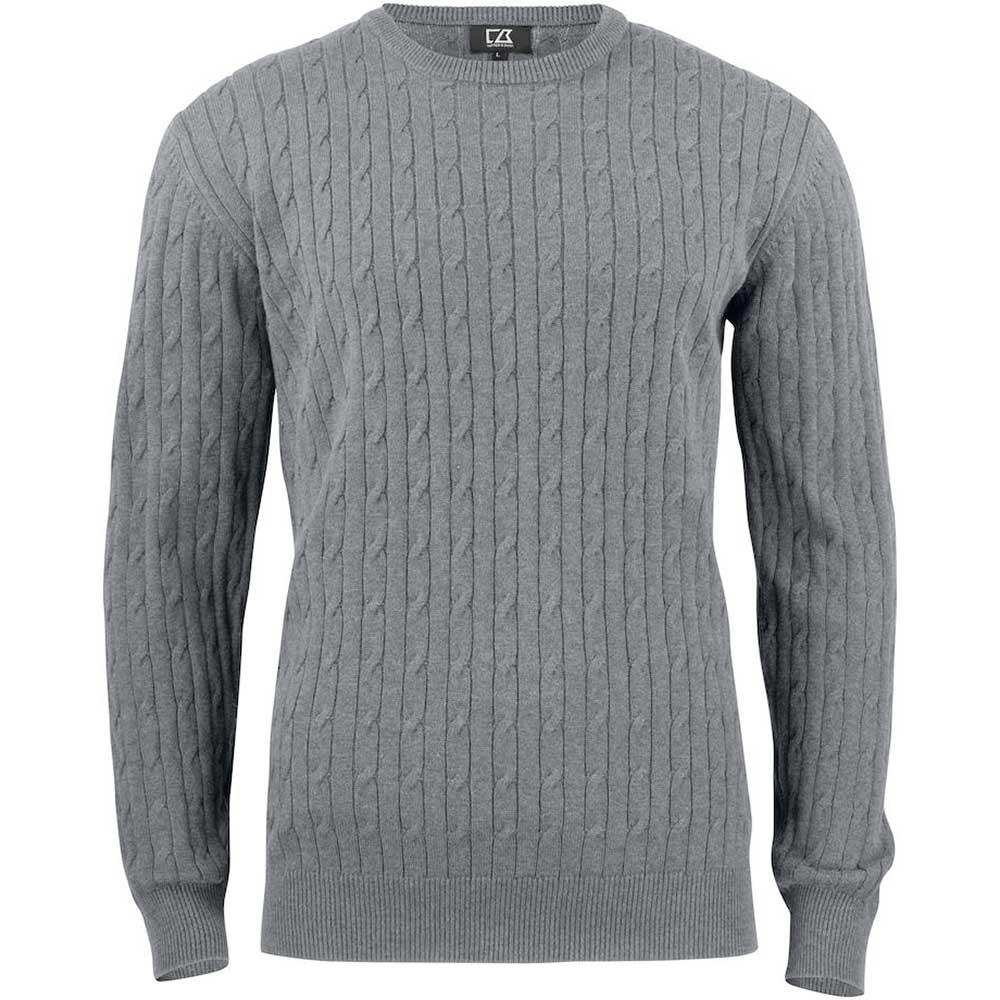 Blakely Sweater Men Gråmelerad