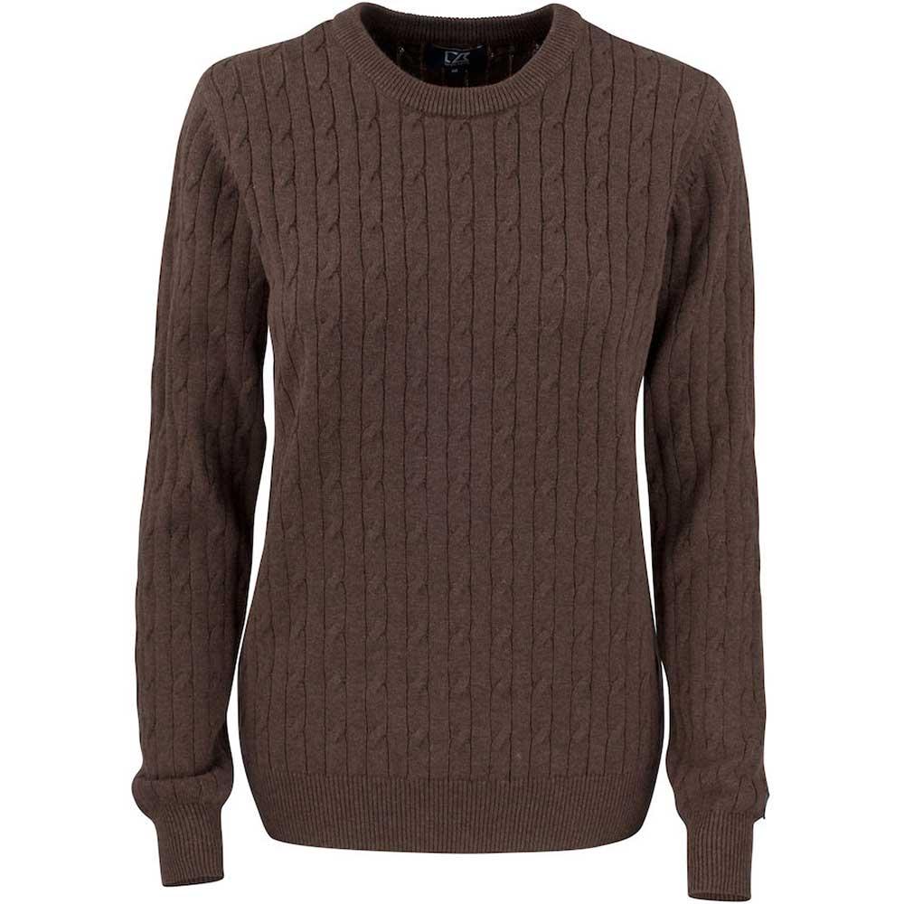 Blakely Sweater Ladies Brunmelerad