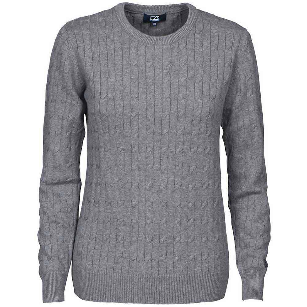 Blakely Sweater Ladies Gråmelerad