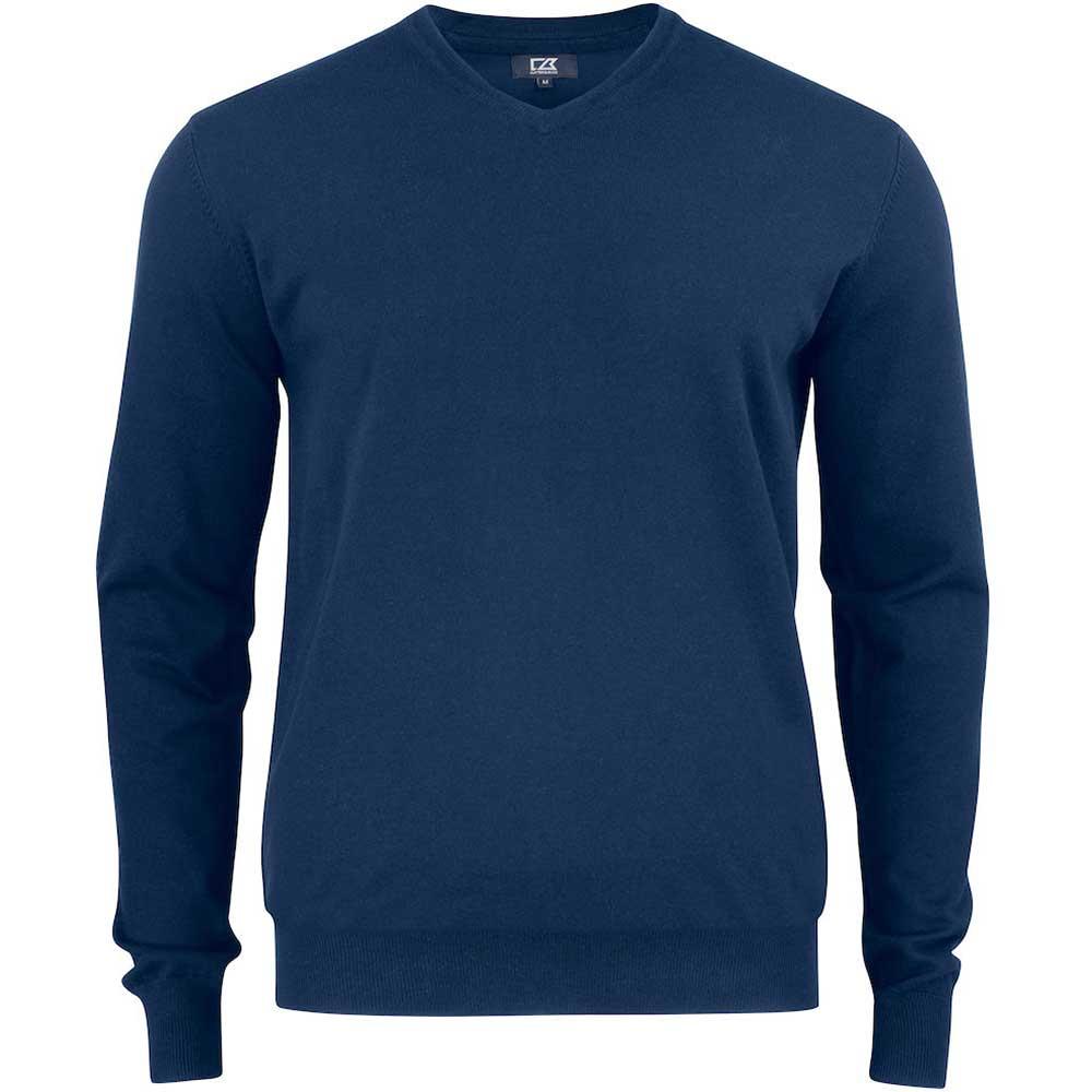 Oakville V-neck Pullover C&B Mörk marin