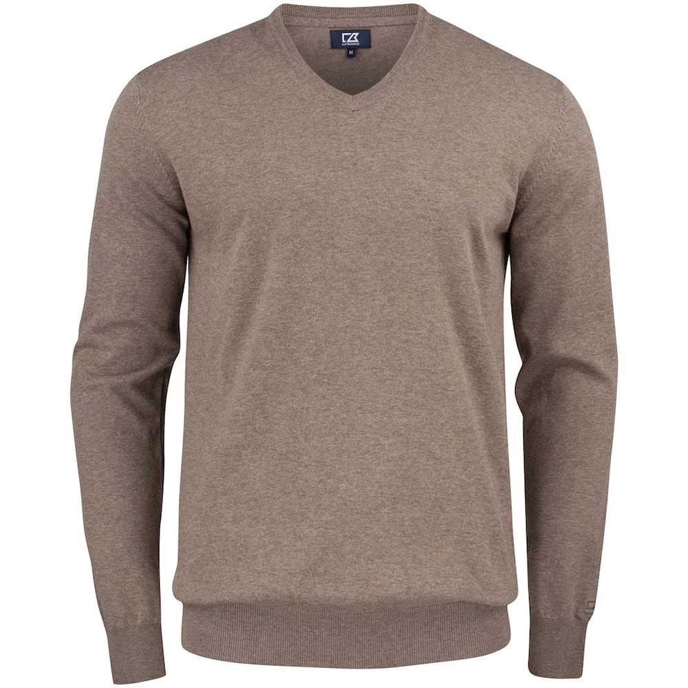 Oakville V-neck Pullover C&B Nougat Melange
