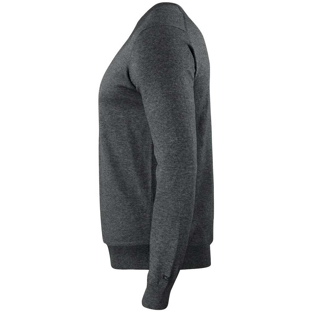 Oakville V-neck Pullover C&B Antracitmelerad